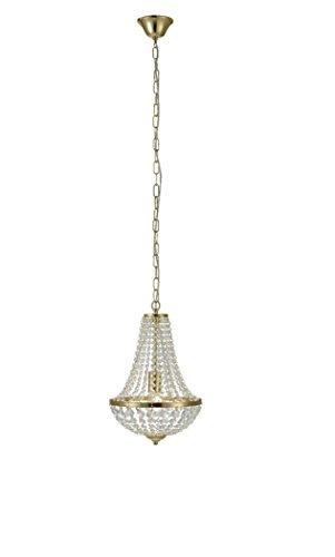 MARKSLOJD 106118 Luminaire, Crystal, 60 W, Brass, 0 x 0 x 0 cm