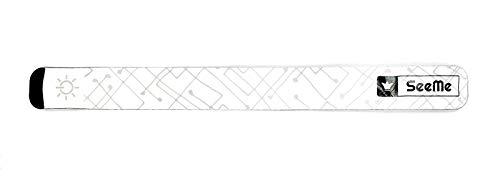 Expersol Brassard LED par SeeMe /éclairage de Course LED Clignotant et Modes constants /équipement de Course r/éfl/échissant pour Coureurs