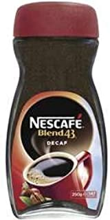 Nescafe Blend 43 Instant Coffee Blend 43 Decaffeinated 250g