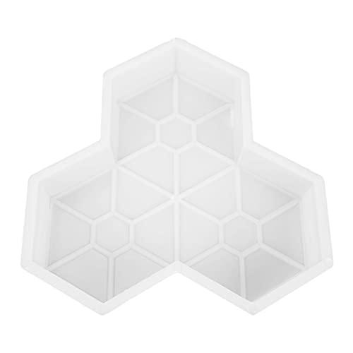 Stampo Per Pavimentazione,Stampo Cemento Stampo in plastica for pavimentazione for pavimentazione for giardino Fai da te Passeggiata manualmente strada for strada for pavimentazione Stampo Per Cemento