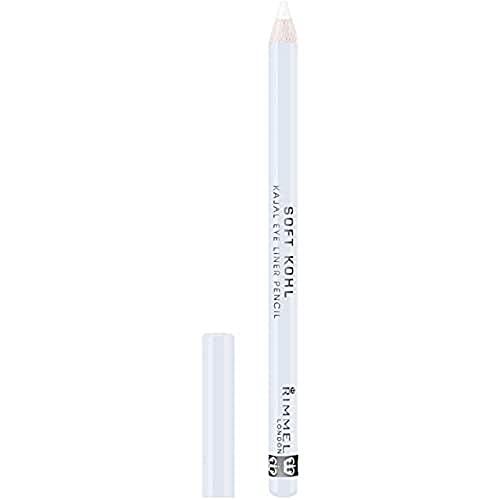 Rimmel London Soft Khol Lápiz de ojos, blanco puro - 1,2 g