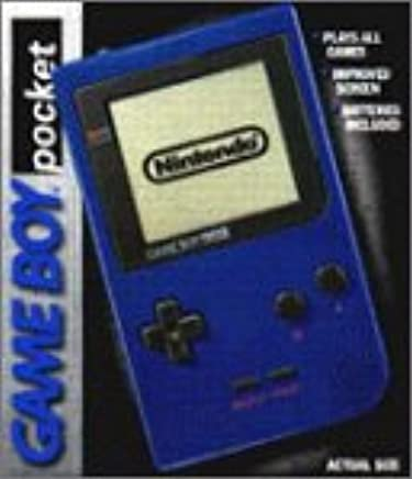 Amazon com: Game Boy Pocket - Blue: Video Games