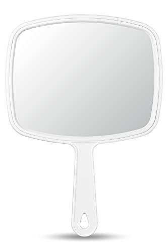 OMIRO Hand Mirror, Handheld Mirror with Handle, Union Jack White