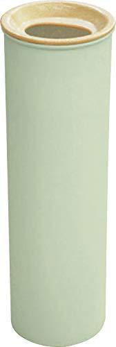 錦化成 日本製 ティッシュケース スリムティッシュボトル shutto ライトグリーン×ライト 7.6×7.6×23.8cm 4904121353532
