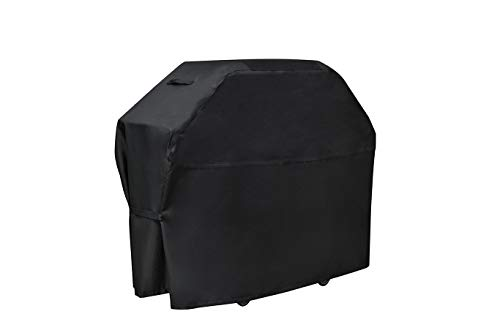 KALINCO Heavy Duty Waterproof BBQ Gas Grill Cover55inch Medium 600D Barbecue Grill Cover UV and Fade Resistant Authentic Oxford Material Fits Weber CharBroil Nexgrill Brinkmann Grills and More