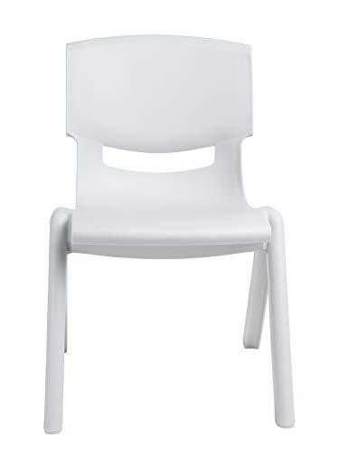 Bieco - Sedia per bambini, colore: Grigio ghiaccio