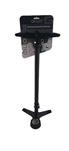 Inflador, Bomba de Aire de Pie GIYO con Manómetro para Bicicleta, Bici - 66x26 cm