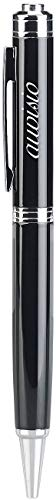 auvisio Wanzen: Digitaler Voice-Recorder-Kugelschreiber, VOX-Funktion, 16 GB, 180 Std. (Spionage Mikrofon)