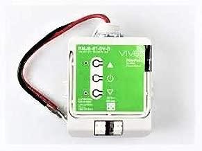Lutron RMJS-8T-DV-B Vive PowPak Dimming Module has Voltage Rating of 120/277 Volt AC at 50/60 Hz Electrical Distribution Product