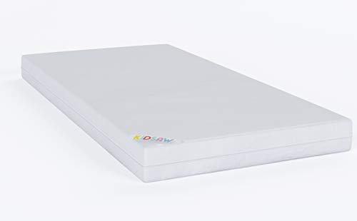 Kidsaw Junior 140 x 70 cm Fibre Matelas de sécurité (Blanc)