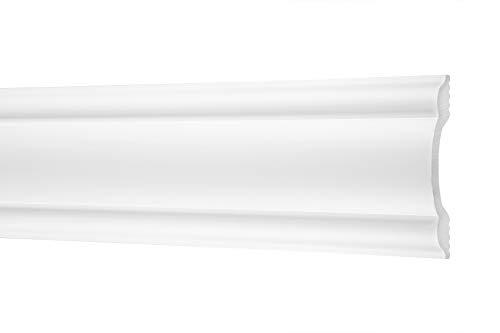 2 metros | Listones planos, Ecopolimer | resistente a los golpes | Cosca | 85 x 20 mm | CM19