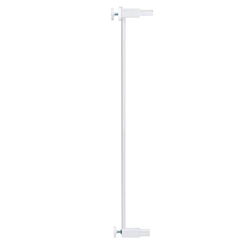 Venture Q-Fix Extra Tall Pressure Fit Pet Safety Gate | 75-84cm Wide, 110cm Extra Tall | Unique 90° Two Way Open/Stay Door, Auto Close Function (White, 7cm)