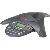 POLYCOM SoundStation 2W schnurloses DECT Audiokonferenz Telefon (deutscher Stecker)