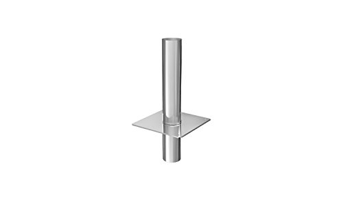 Schornsteinverlängerung Kaminverlängerung einwandig DN Ø 120 mm 0,5 m