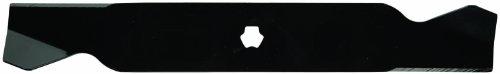 Oregon 98–093 MTD Mulchmesser, Ersatzmesser für Rasenmäher mit Sternloch, 53,3 cm