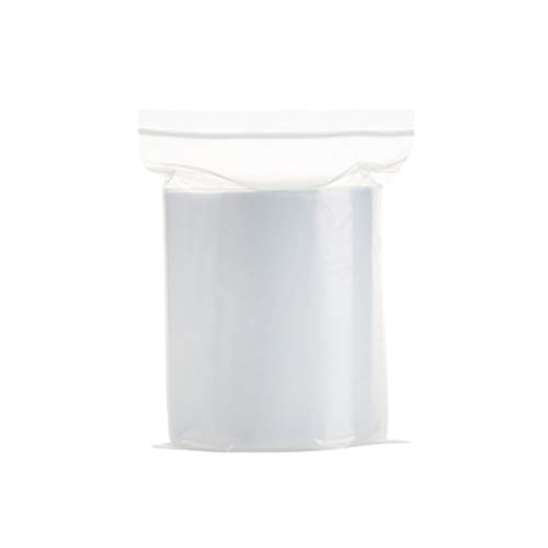 Fuyamp Plastikbeutel, wiederverschließbar, transparent, 15 x 20 cm, 320 g