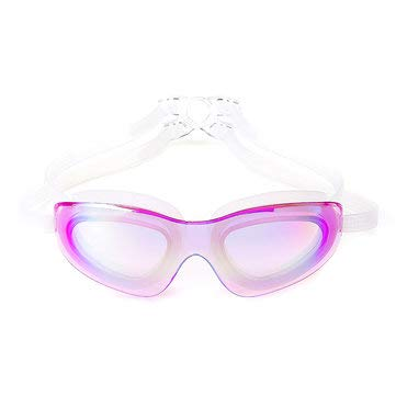 PeroFors Schwimmbrille Adult Waterproof Anti-Fog Uv Protect Schwimmtauchbrille W/Box - Lila
