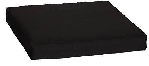 beo LKP 70x70PY202 - Cojín para sofá con Cremallera y Tejido Impermeable, Color Antracita, 70 x 70 cm