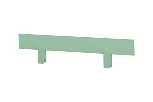Hoppekids Marie - Cavalletto regolabile in legno di pino massiccio, singolo, colore: Verde chiaro