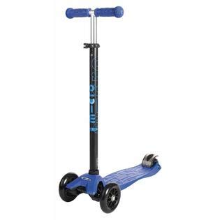 Micro Kickboard - Maxi Original 3-Wheeled, Lean-to-Steer, Swiss-Designed Micro Scooter for Kids, Ages 5-12 (Blue)