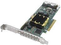 Adaptec ASR5805-SGL 5805 RAID-kaart 8-poorts 8-baans PCIe voor SATA/SAS-schijven (RoHS)