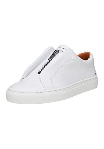 SHOEPASSION - No. 27 WS - Sneaker - Sportiver Freizeitschuh für Damen aus portugiesischem Kalbsleder mit markantem Marken-Emblem und Leichter Gummischalensohle.