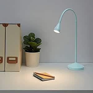 Lámpara de mesa azul Nävlinge