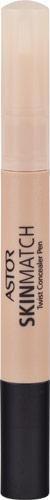 Astor SkinMatch Twist Concealer, Farbe 3 Honey, 1er Pack (1 x 2 ml)