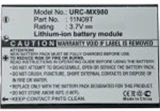Replacement Battery For Urc Mx-980 Remote Lithium Ion