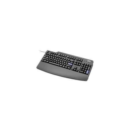 Lenovo 73P5249 - Teclado QWERTY español con Cable USB, Negro ...