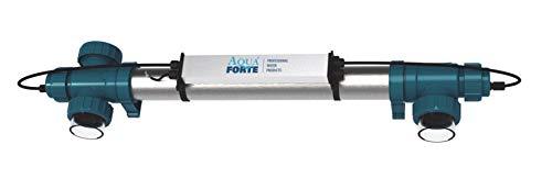 AquaForte Power UV TL 30 Watt UVC Teichlampe/-klärer/-Filter, Alu, Aqua