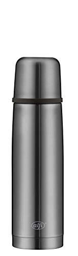 alfi Thermosflasche, Edelstahl, Cool Grey, 0,5 Liter
