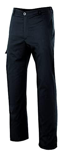 VELILLA 403007; pantalón de Cocina Multibolsillos; Color Negro; Talla XXL