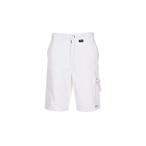 Größe S Herren Planam Canvas 320 Shorts reinweiß Modell 2172