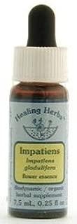 Flower Essence Services (FES) - Impatiens - Healingherbs Flower Essences of Dr. Bach 1/4 oz