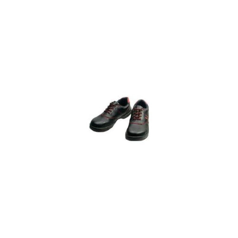 安全靴 短靴 SL11 SL11R23.5_3043 黒/赤 23.5cm
