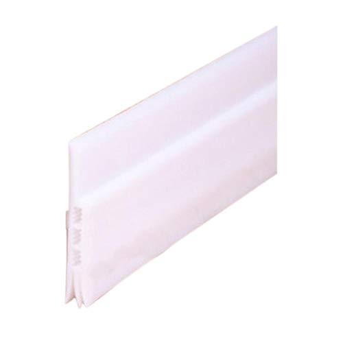 Türbodendichtung für Türen, Fenster, Silikon, selbstklebend, schalldämpfend, Gummi, Zugluftstopper, Zugluftstopper, für Türen, Fenster, 50 x 91 cm, weiß