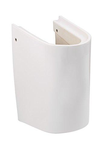 'aquaSu® Halbsäule zum citY Waschtisch (56699 5), Weiß, Säule