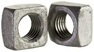 Zinc Plated 5//16-18 Square Nuts Quantity: 250 Grade 2 Steel