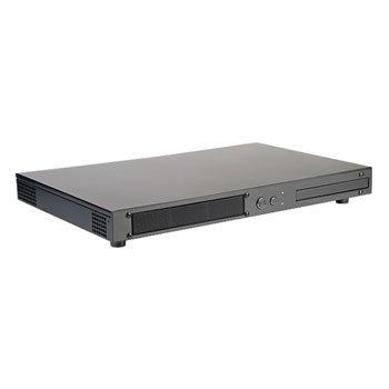 Silverstone PT12B Carcasa de Ordenador HTPC Gris - Caja de Ordenador (HTPC, PC, Mini-ITX, Gris, 2.5