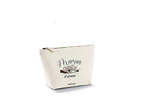 Bubble Gum - Trousse de Maquillage Naturel Maman d'amour Koala - Taille M - 27 x 16 x 9 cm - Couleur Beige
