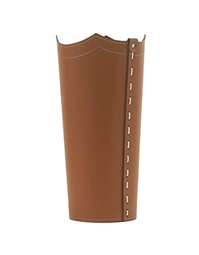 Gavemo Umbrella portaombrelli in Cuoio, Porta ombrelli Design Moderno da Interno per la Casa, Ufficio, Hotel, Prodotto da Limac Design, Marrone