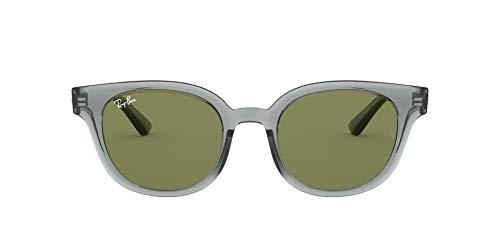 Ray-Ban RB4324-64504E Gafas de sol, Transparente/Grey, 50 Unisex