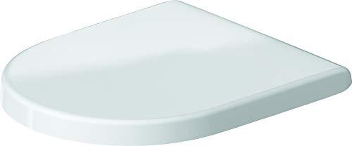 Duravit WC-Sitz mit Edelstahl Scharnieren, Weiß