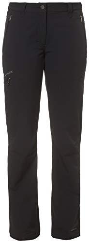 VAUDE Damen Hose Women's Strathcona Pants, Softshellhose, Wanderhose, black, 42, 034030100420