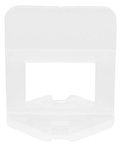 Bauhandel24-200 Zuglaschen 2mm, Laschen, Fliesenverlegehilfe, Verlegehilfe, Fliesen Werkzeug, Nivelliersystem