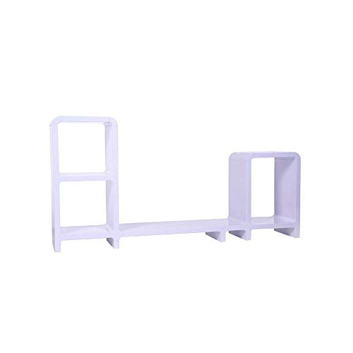 COLiJOL Monitor Arm Stand Bookcase Shelf Storage Combination Shown to Increase The Shelf Life Printers Monitor Stand Tablet (Color : Picture Color, Size : 122X58.5X24Cm),Picture Color,122X58.5X24Cm