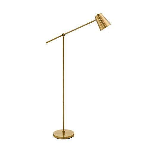 Lámpara LED pie Ajustable Diseñador Craft Planta de luz Modern Chrome Curvo vástago de...