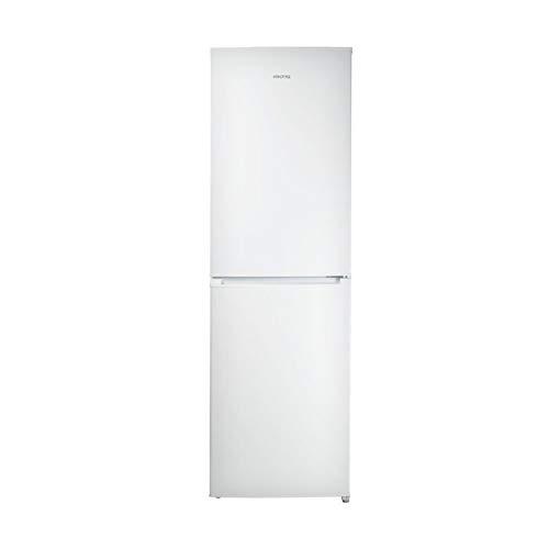 electriQ 231 Litre 50/50 Freestanding Fridge Freezer - White