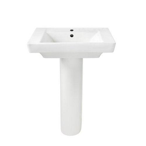 American Standard 0641.100.020 Boulevard Pedestal Lavatory Combo, White